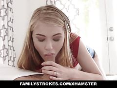 FamilyStrokes -Truth Or Dare With Kinky Stepsis