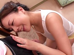 Yuri Shibasaki wants to sky young and hard penis deep inside her cunt