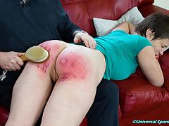 Paddled be advantageous to Promises Operating - Spanking