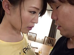 Rinne Toka - A Muscular Working-out Get hitched S Cock-a-hoop Cowgirl Position - TOKA RINNE