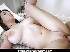 Gabbie Hauler has her tight pussy fucked